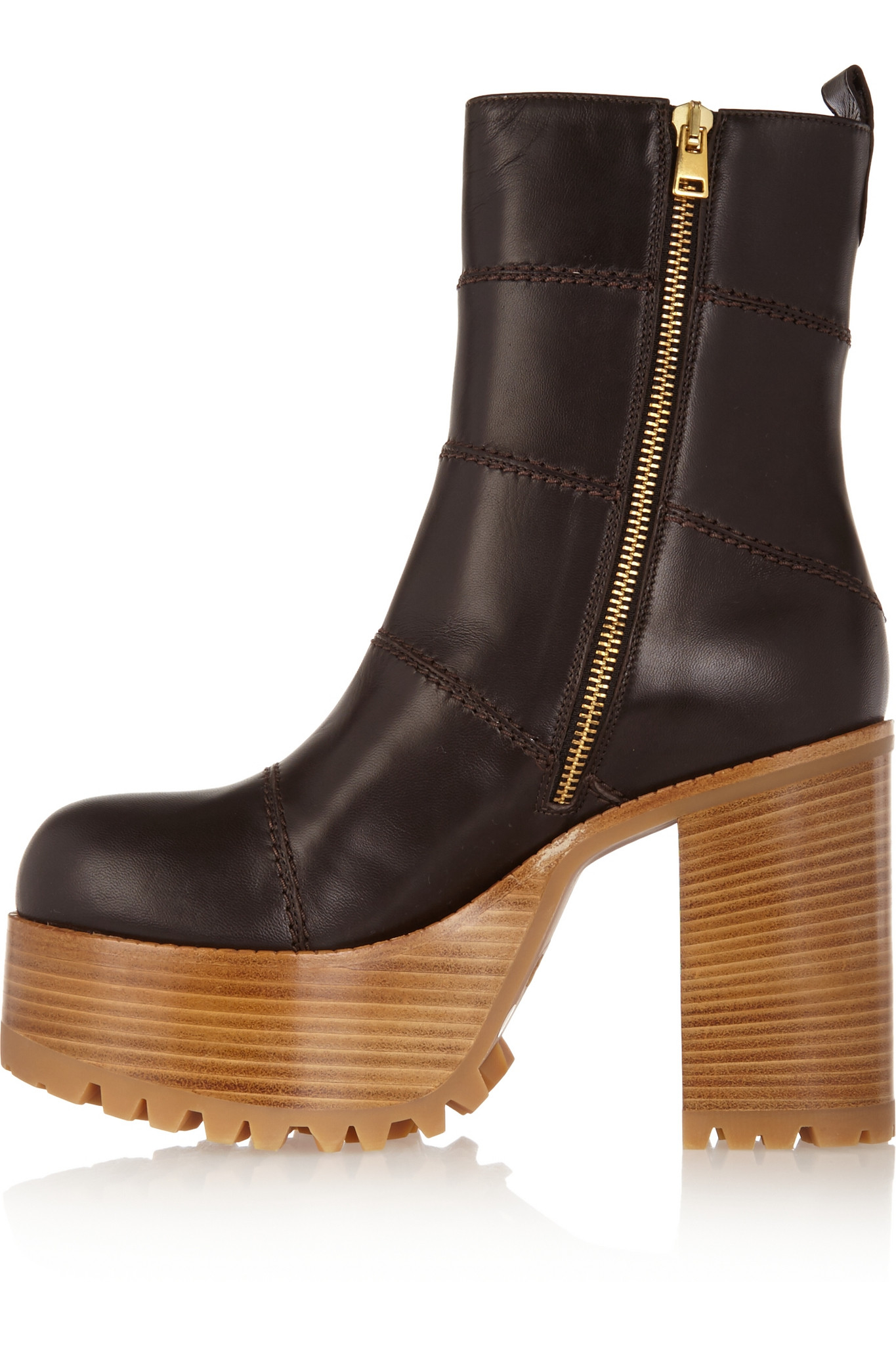 Marni Platform Leather Boots 2014 cheap price caWHuYcPUF