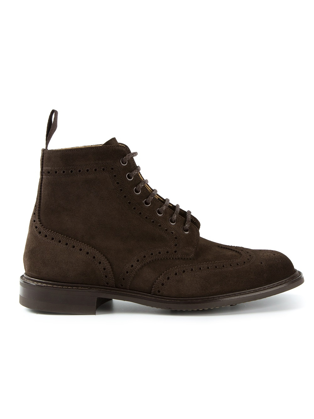 church s caldecott brogue boots in brown for lyst