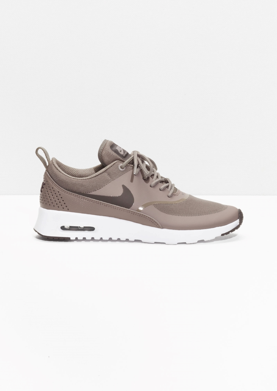 womens nike khaki air max thea trainers