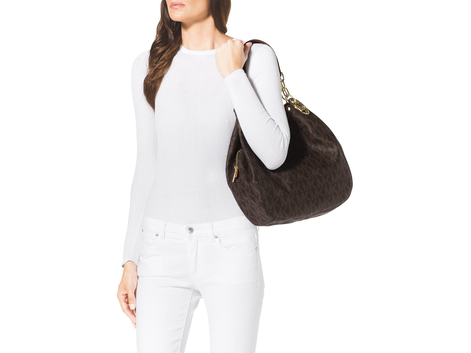 8df8dfd7ab537b Gallery. Previously sold at: Bloomingdale's · Women's Michael By Michael  Kors Fulton