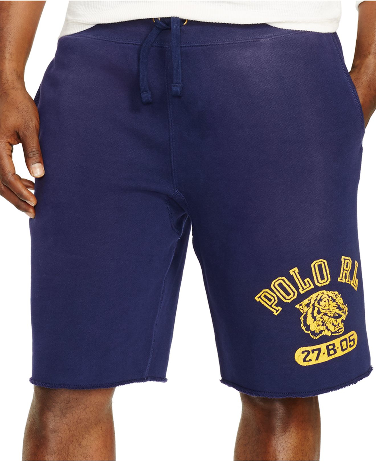 Lyst - Polo Ralph Lauren Big And Tall Fleece Drawstring Shorts in ... ef9293af3