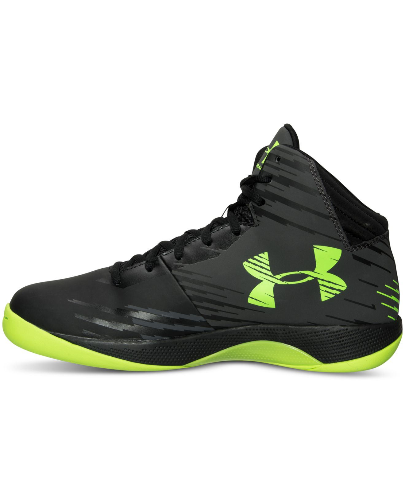 01022f617102 Lyst - Under Armour Men s Jet Basketball Sneakers From Finish Line ...