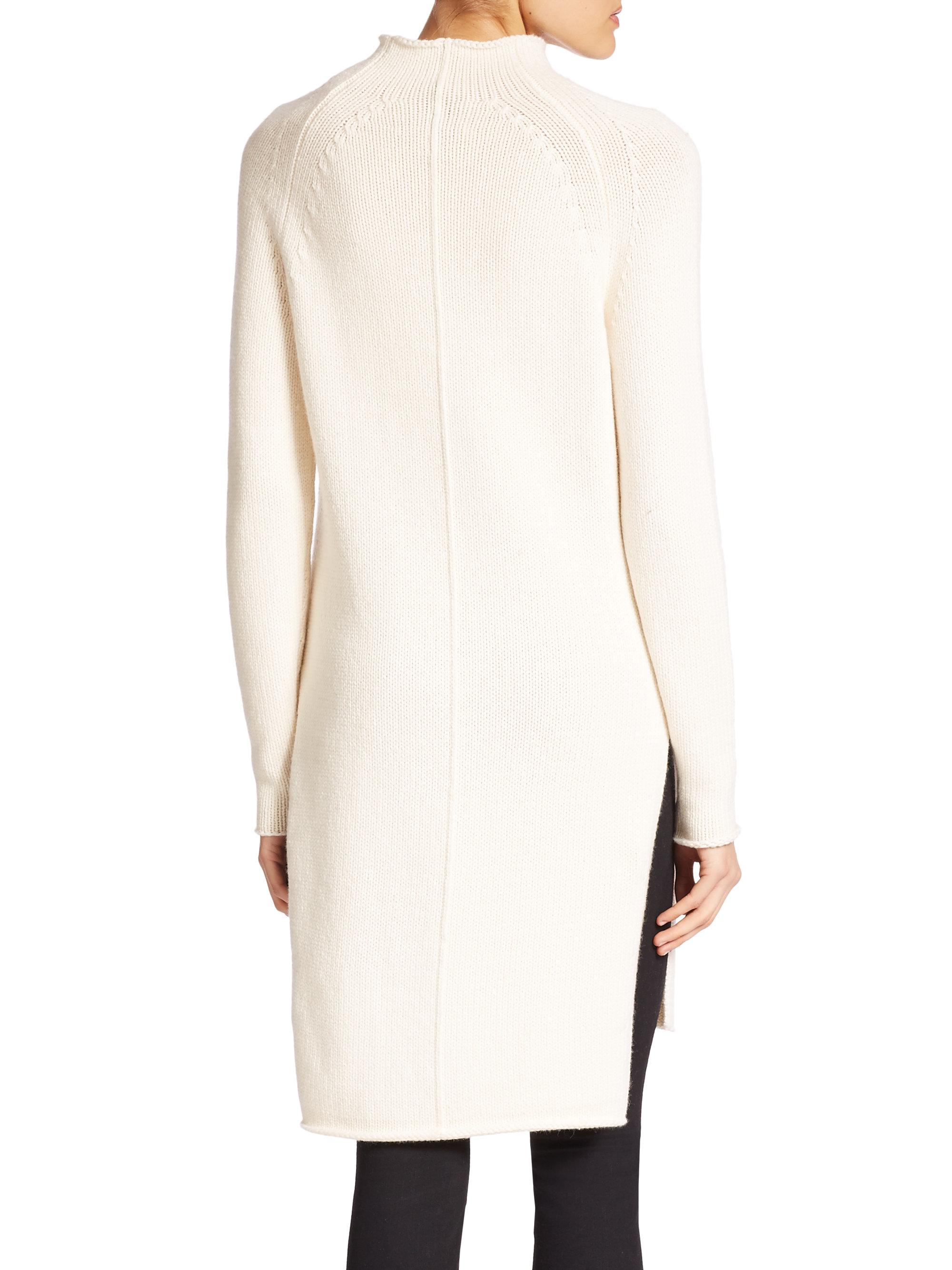 Winter White Tunic Sweaters 3