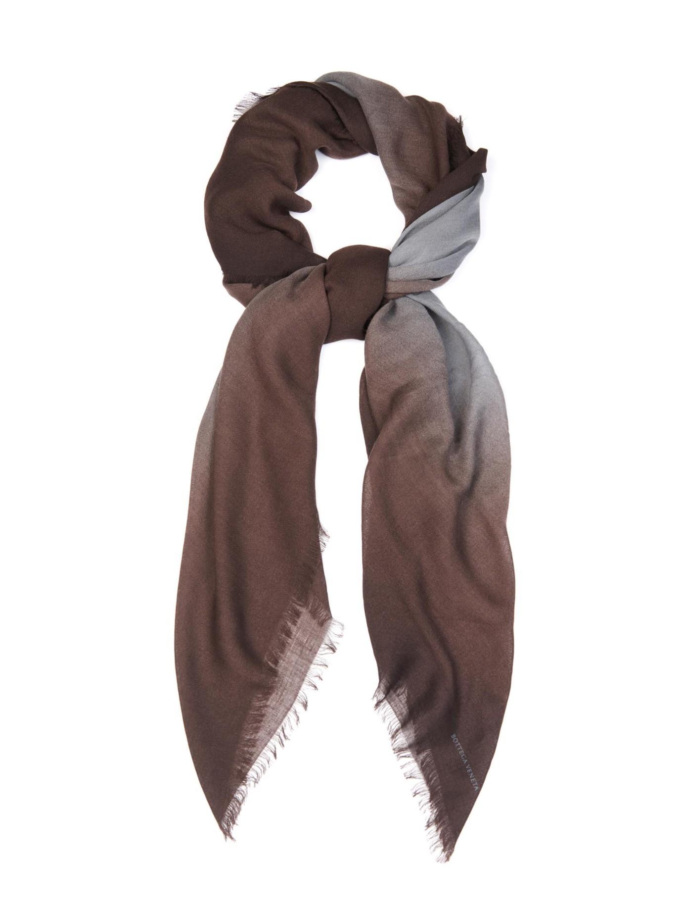Wool scarf Bottega Veneta J9DgaeA