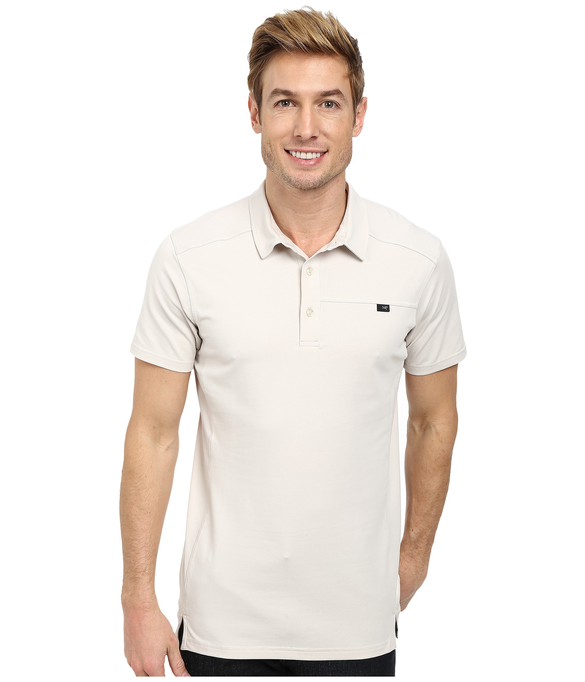 Lyst Arcteryx Captive Polo Ss In Natural For Men