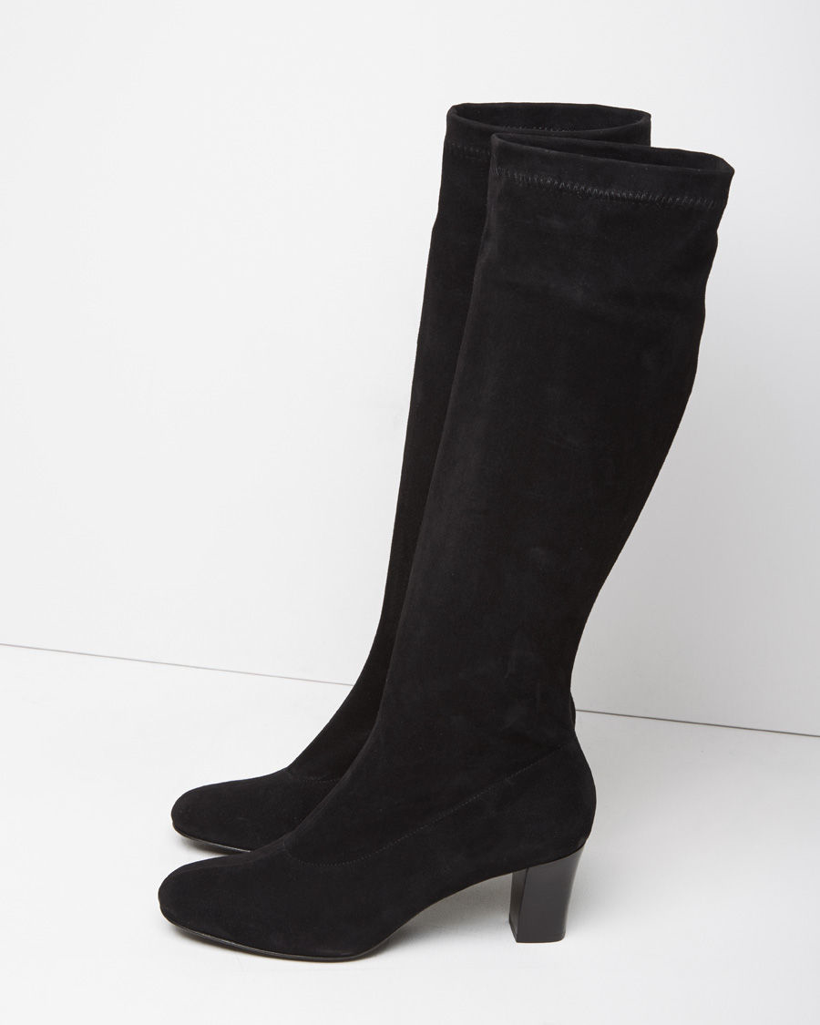 buy cheap best prices Robert Clergerie Suede Round-Toe Boots outlet sale online shopping online original Manchester cheap price ZGPGB791I