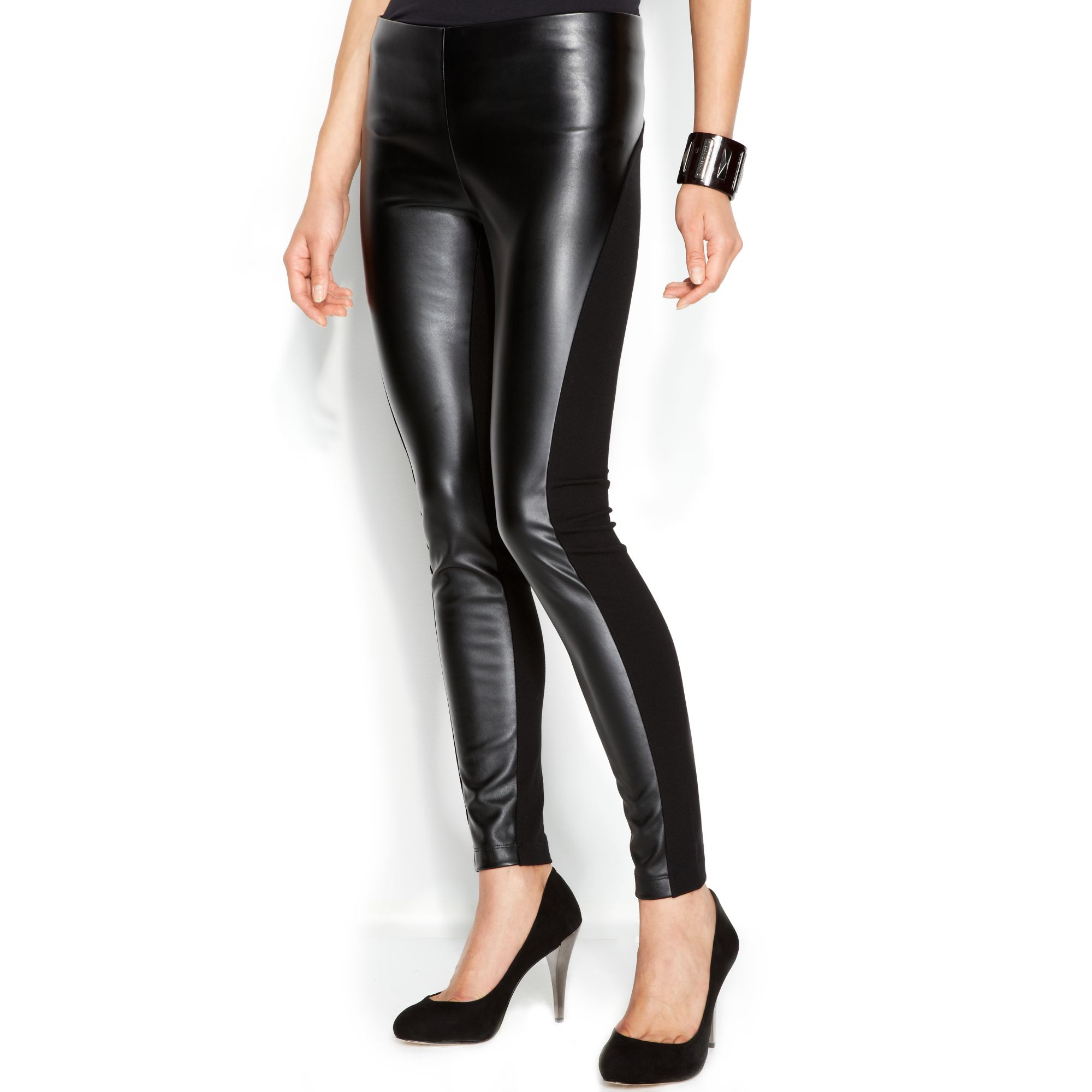 Buy the latest leather panel leggings cheap shop fashion style with free shipping, and check out our daily updated new arrival leather panel leggings at reasonarchivessx.cf