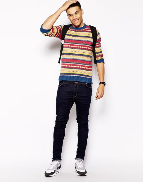 v Neck or Crew Neck Sweater With Dress Shirt Crew Neck Sweater Jacquard