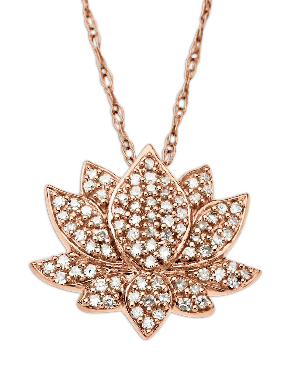 Gold Lotus Flower Pendant Necklace Pendant Design Ideas