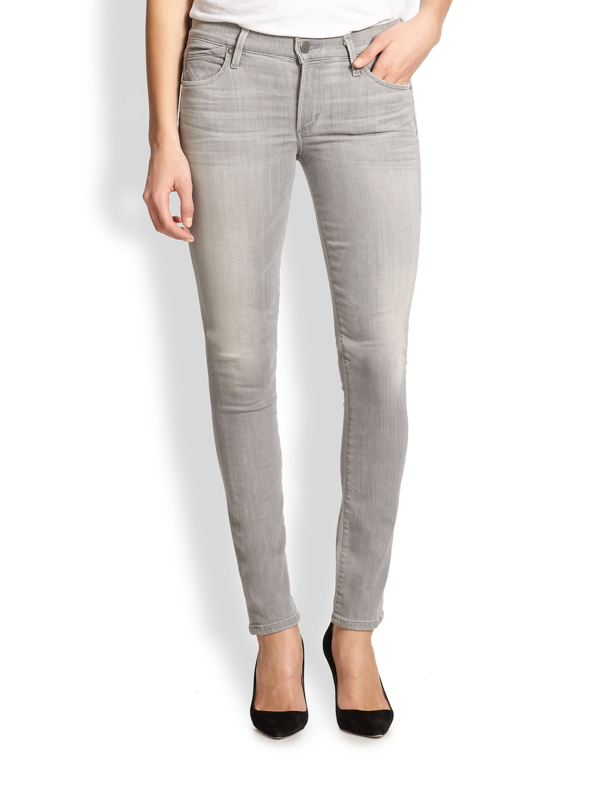 Lyst - Citizens Of Humanity Pretender Avedon Skinny Jeans in Gray