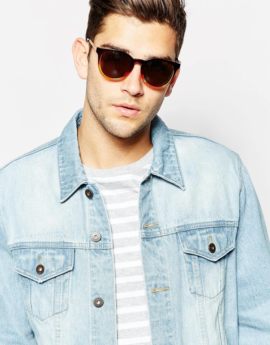 ray ban round sunglasses asos  gallery. men's round sunglasses