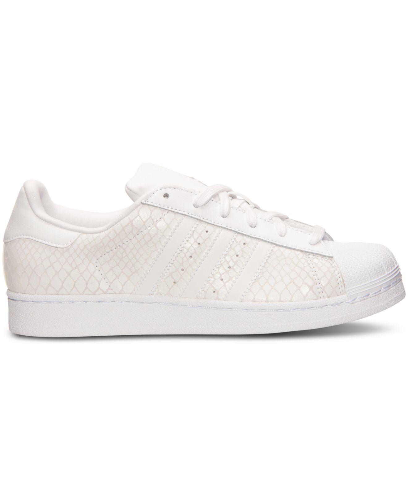 Lyst - adidas Originals Women s Superstar Casual Sneakers From ... c8e830d9e