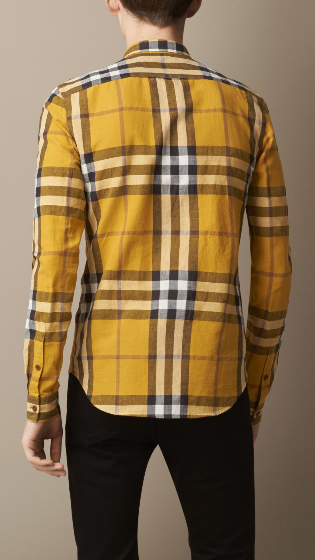 burberry clearance outlet online oftr  burberry linen shirt