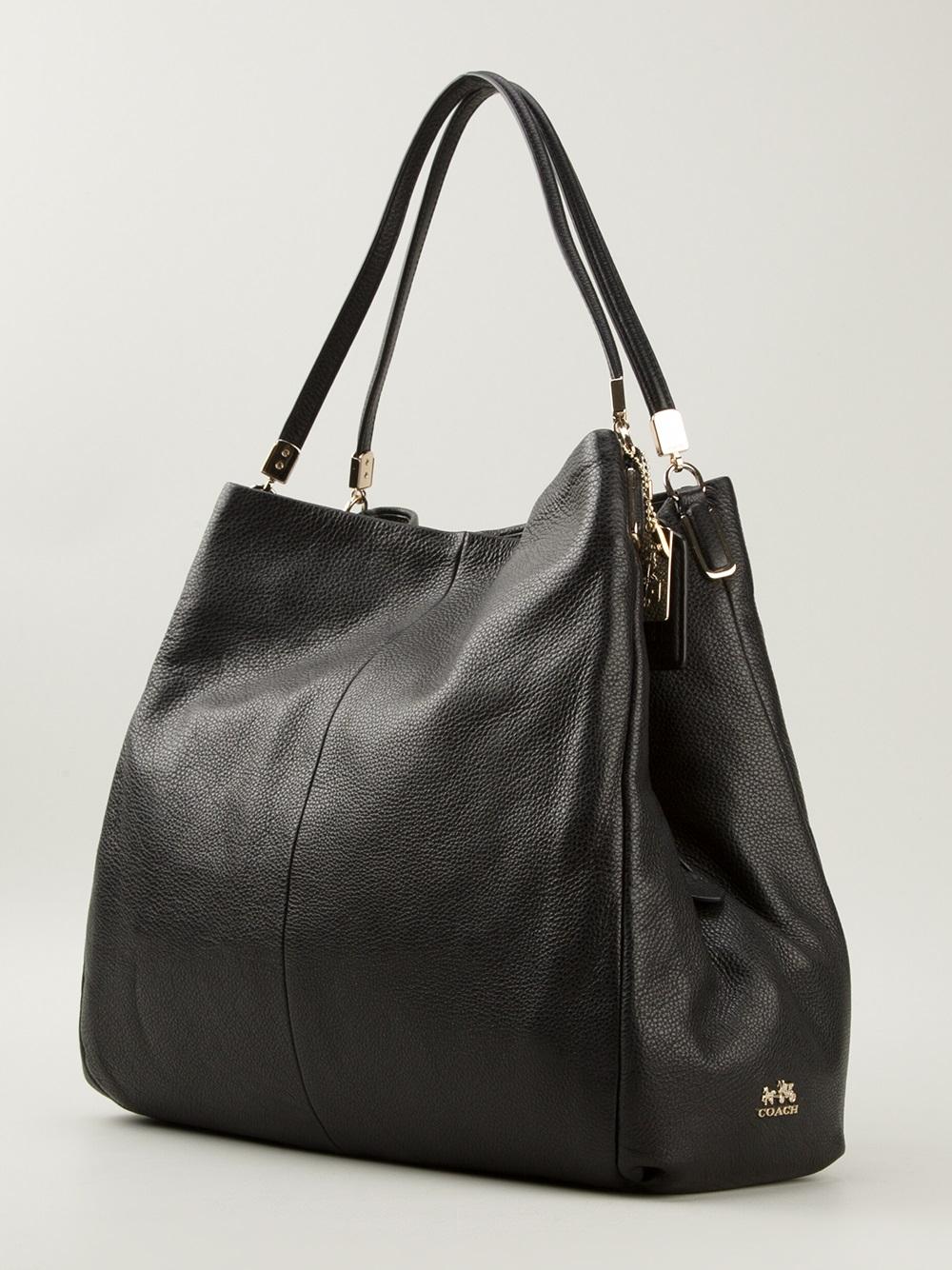 Coach 'Phoebe' Shoulder Bag in Black | Lyst