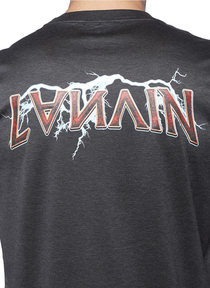 Lanvin Logo print T-shirt gR0SIn