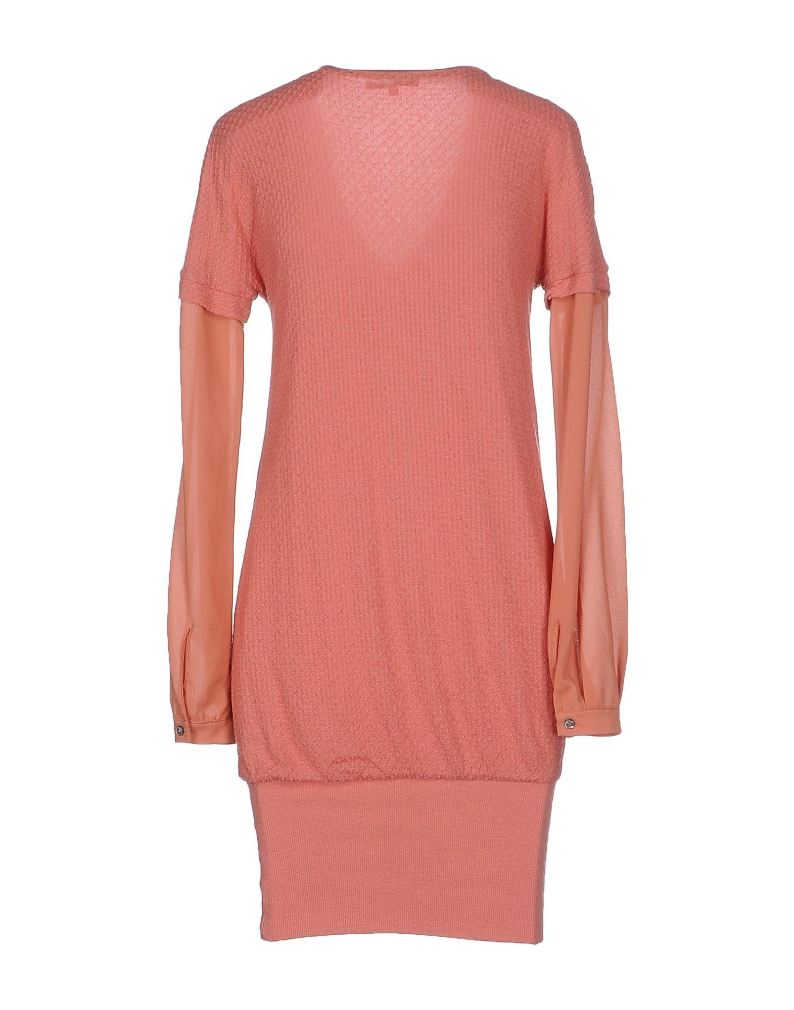 patrizia pepe short dress in pink lyst. Black Bedroom Furniture Sets. Home Design Ideas