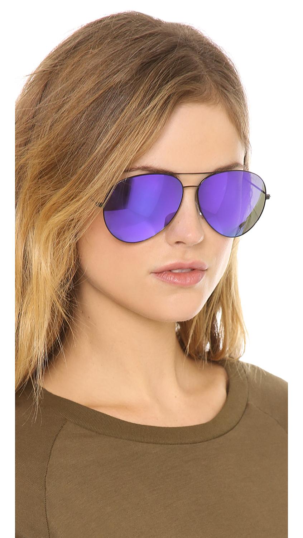 Midnight Lyst Sunglasses Aviator Classic Victoria Beckham xAwwqgzY