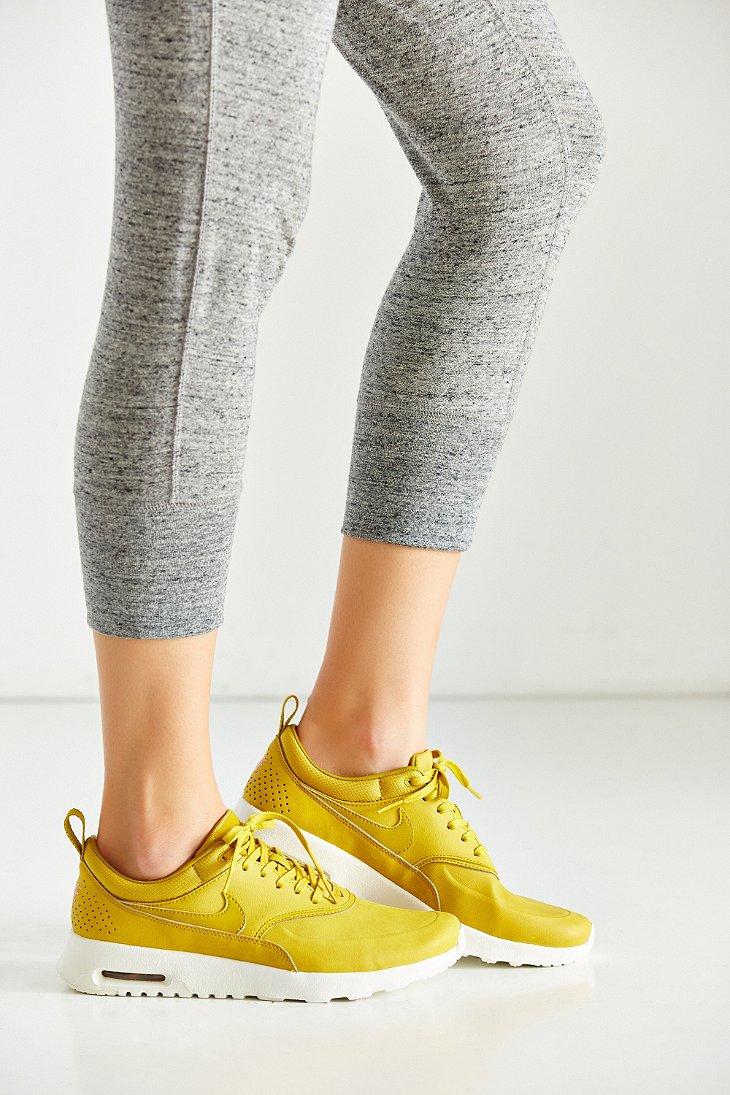 f577a455e166 Nike Air Max Thea Premium Sneaker in Yellow