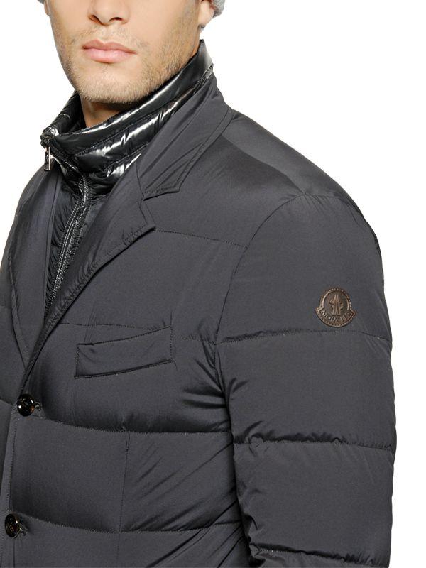 moncler down rouillac blazer
