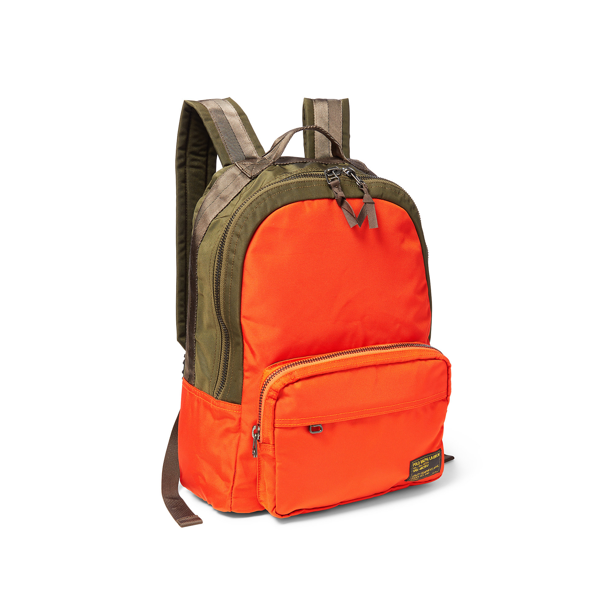 ac4dc228db6 Lyst - Polo Ralph Lauren Military Nylon Dome Backpack in Green for Men