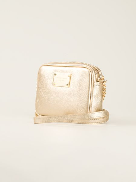 Gold Across Shoulder Bag 107