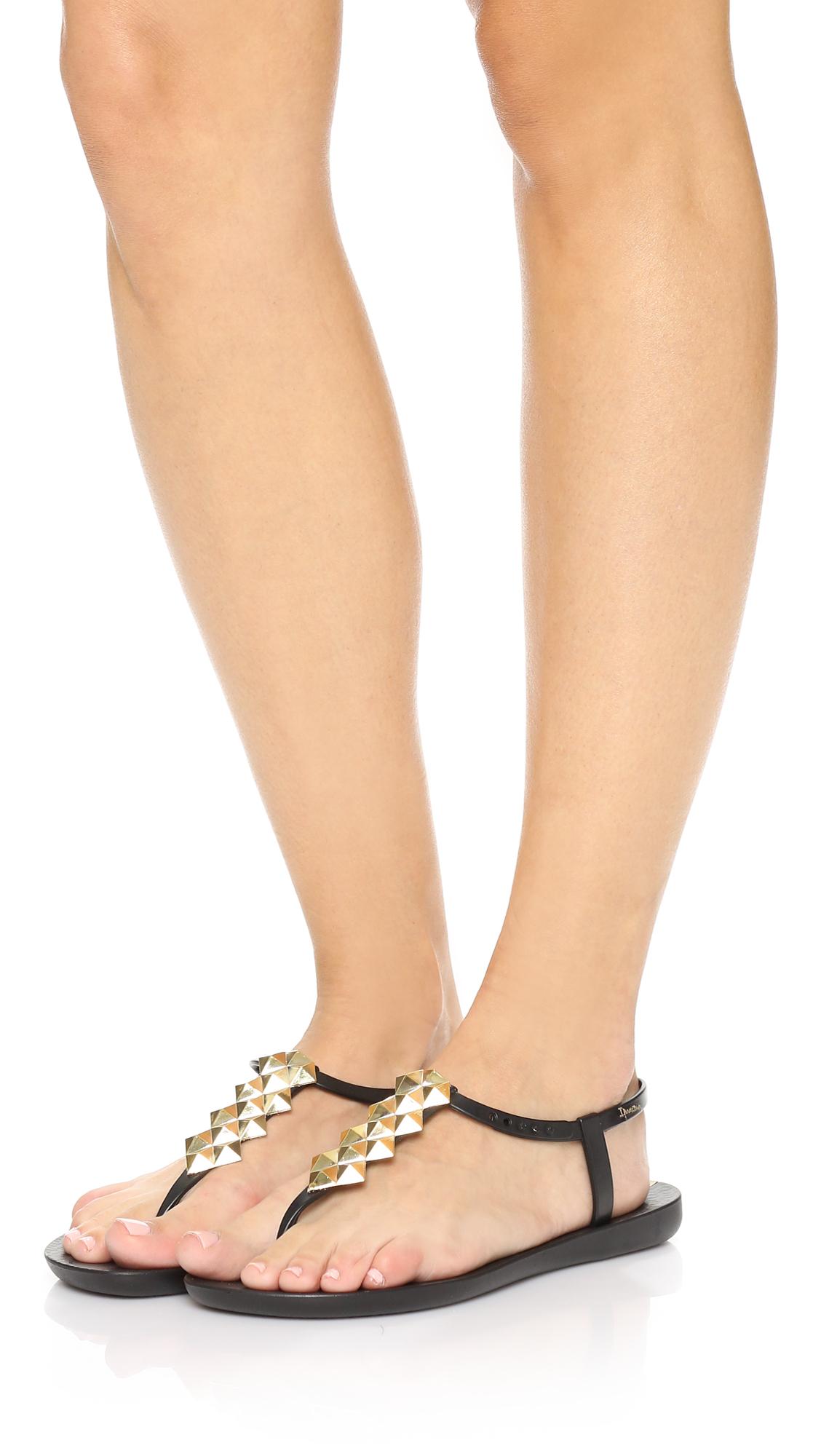Ipanema Cleo Shine T Strap Sandals Lyst