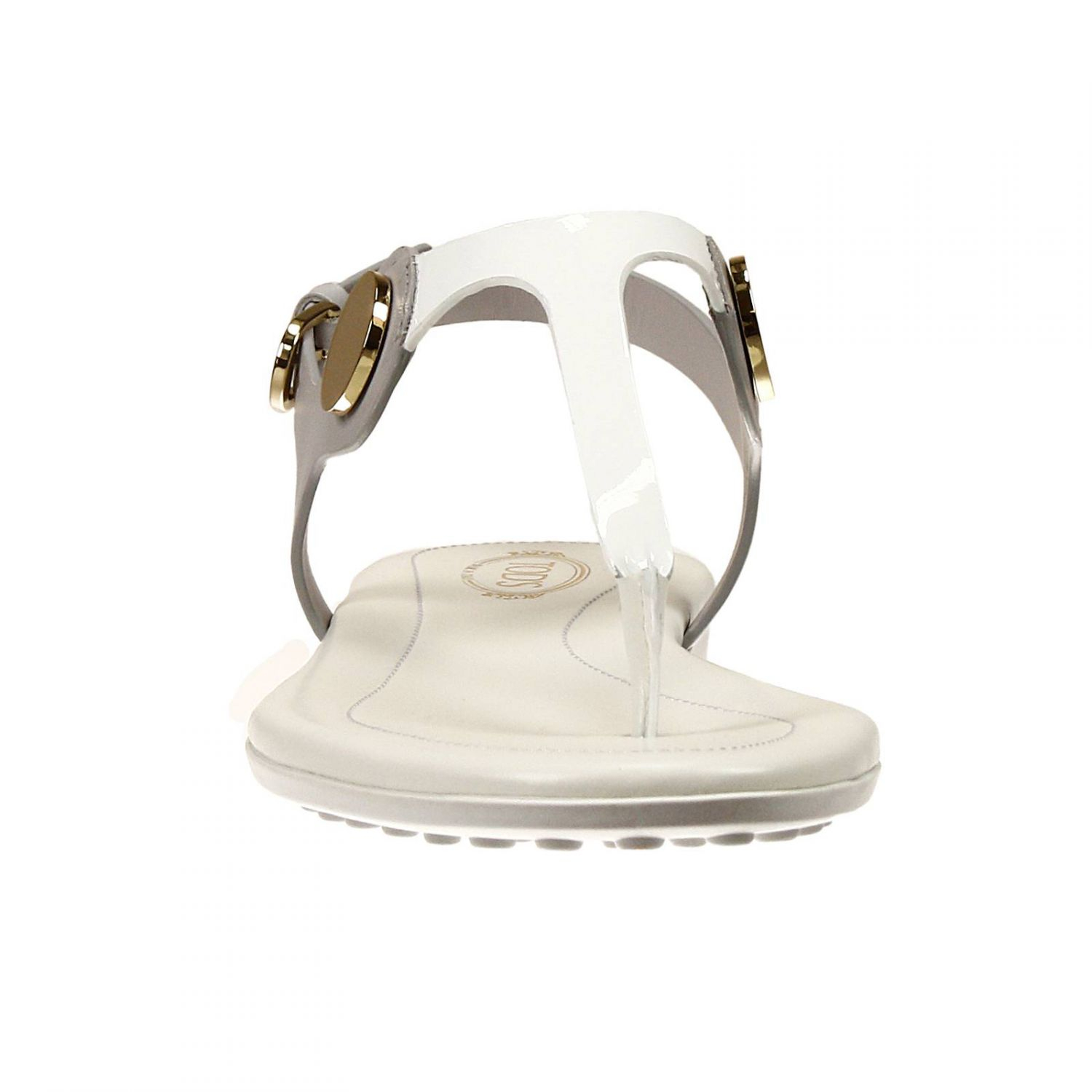 Tods Flat Shoes Shoes Sandal Flip Flops Leather And -8867