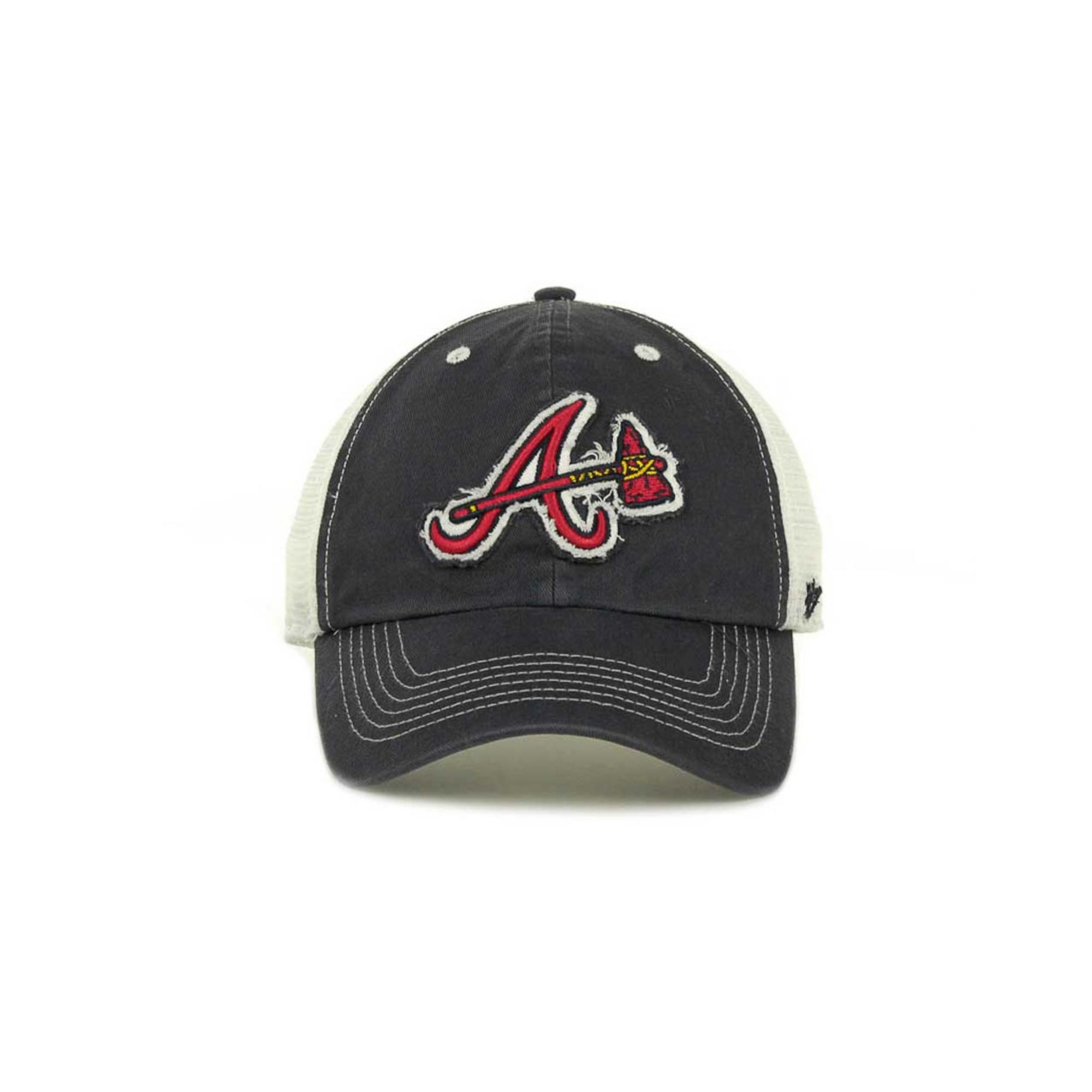 outlet store 23aea 1c481 ... australia lyst 47 brand atlanta braves blue mountain franchise cap in  blue 5a837 bde68 ...