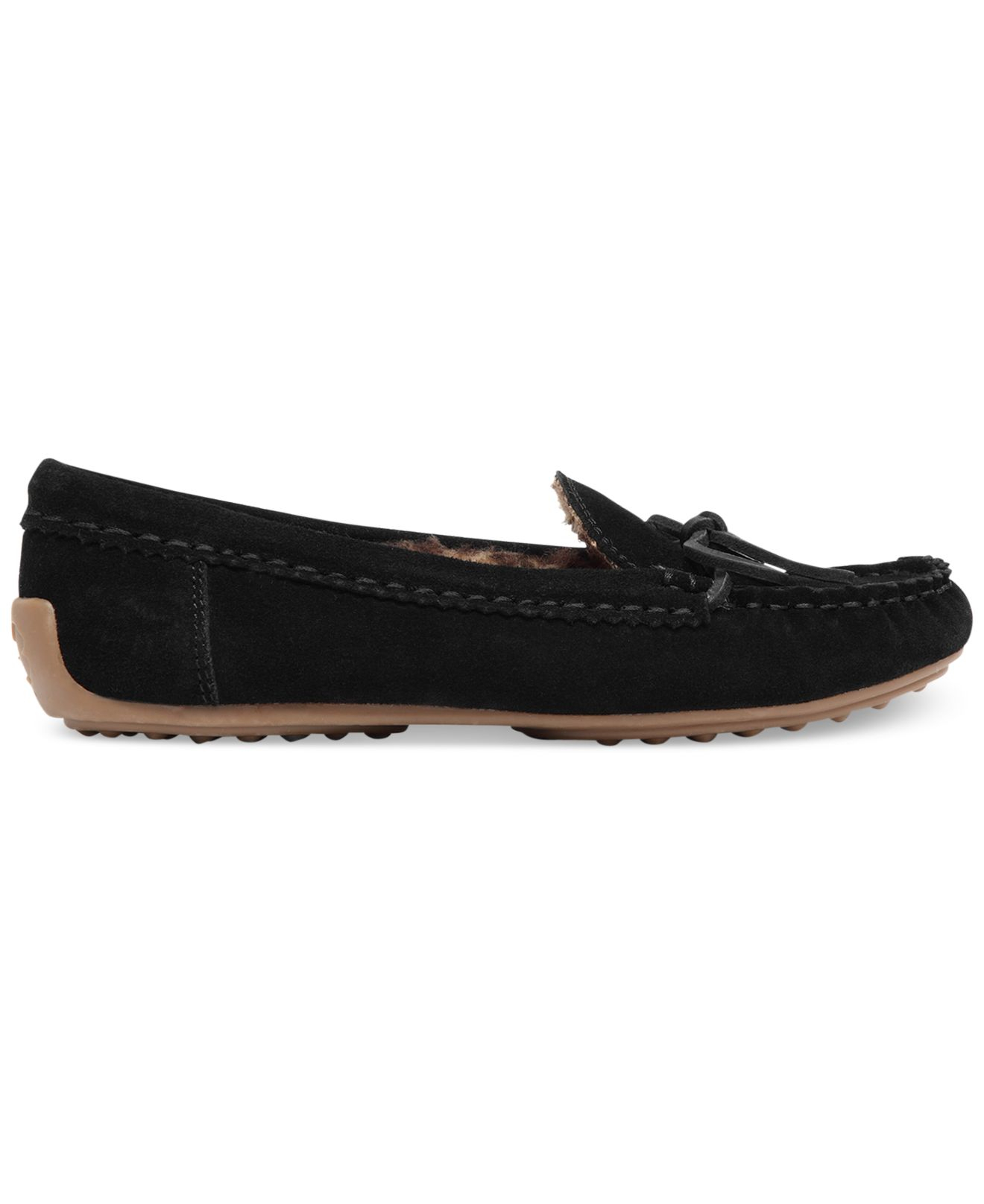 40557081696 Lyst - Lucky Brand Women S Aligabe Faux-Fur Moccasins in Black for Men