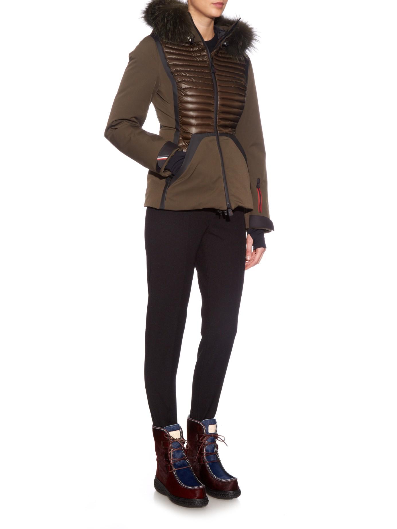 moncler grenoble womens ski jacket