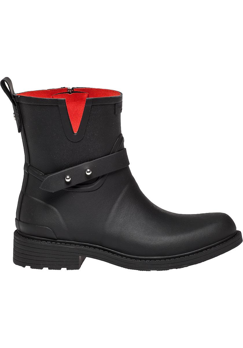 Womens Rag Bone Moto Rain Boot