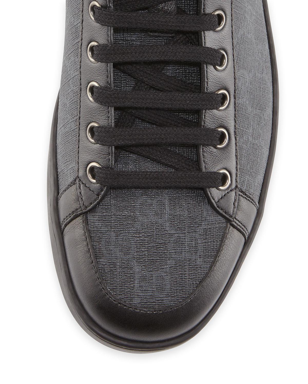 ff7b43a1b39ba Lyst - Gucci Brooklyn Gg Supreme High-top Sneaker in Black