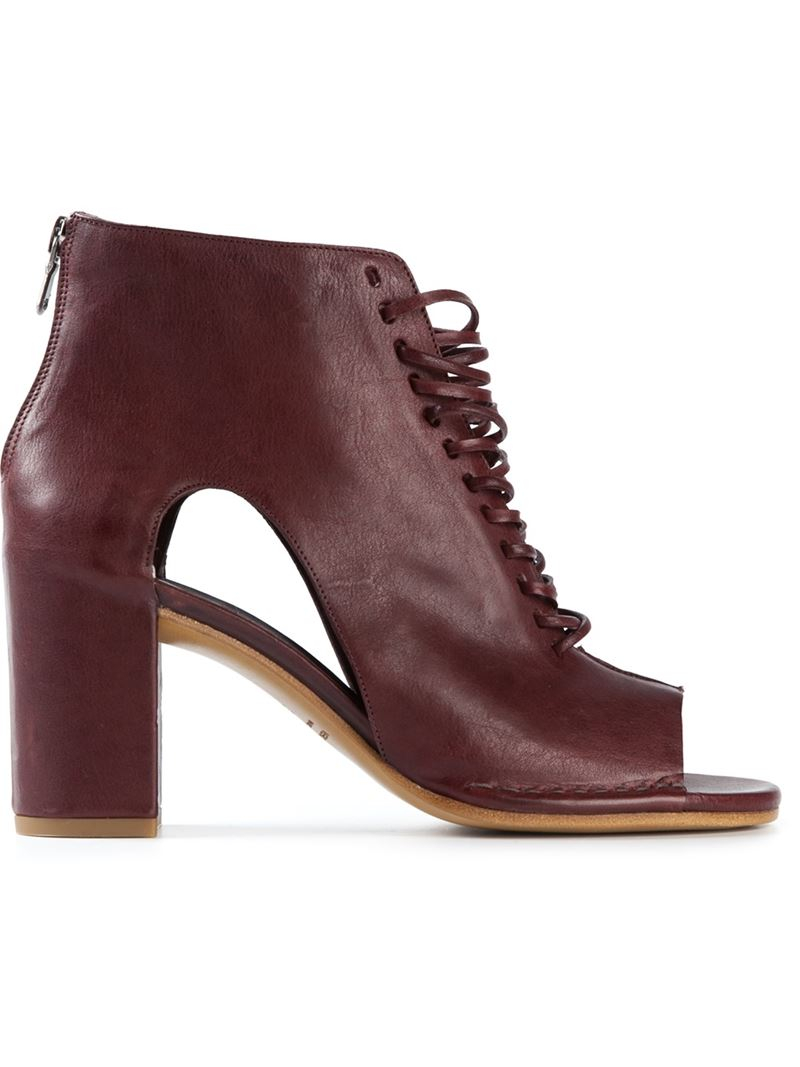 ROBERTO DEL CARLO Pointed toe ankle boots mfPHhMLnF
