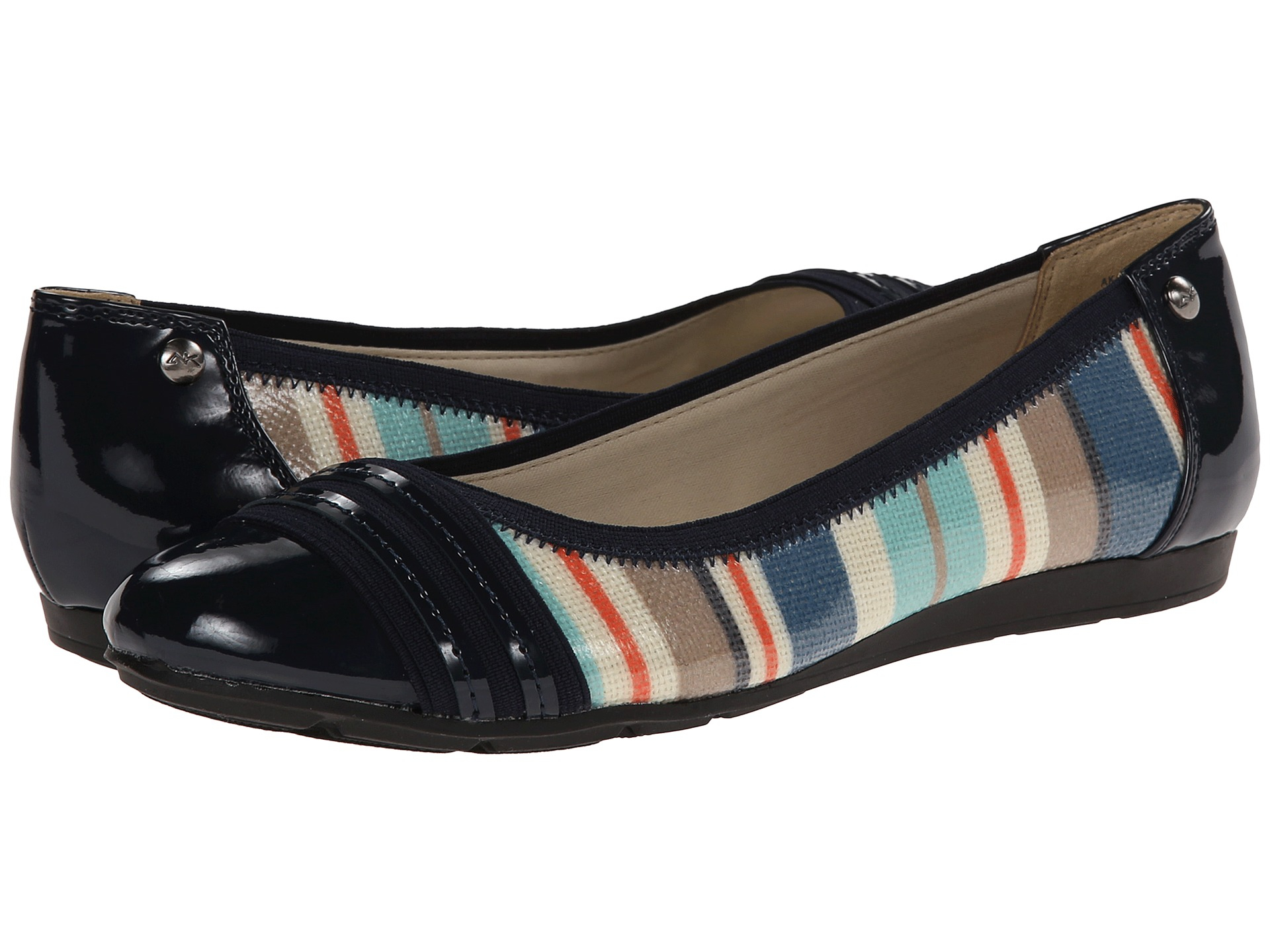 77f10d0a8d8 Gallery. Previously sold at  Zappos · Women s Two Toned Flats ...