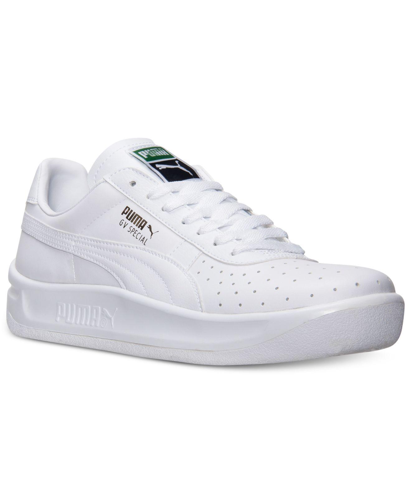 Exact Product: Selena Gomez White Leather Sneakers Street Style Autumn Winter 2019, Brand: Puma, Available on: amazon.com, Price: $60