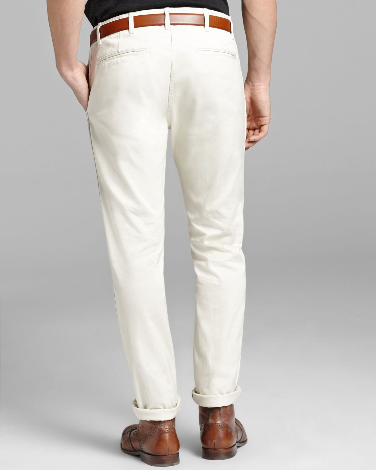 Wings   horns Wings Horns Westpoint Twill Chino Pants in White for ...