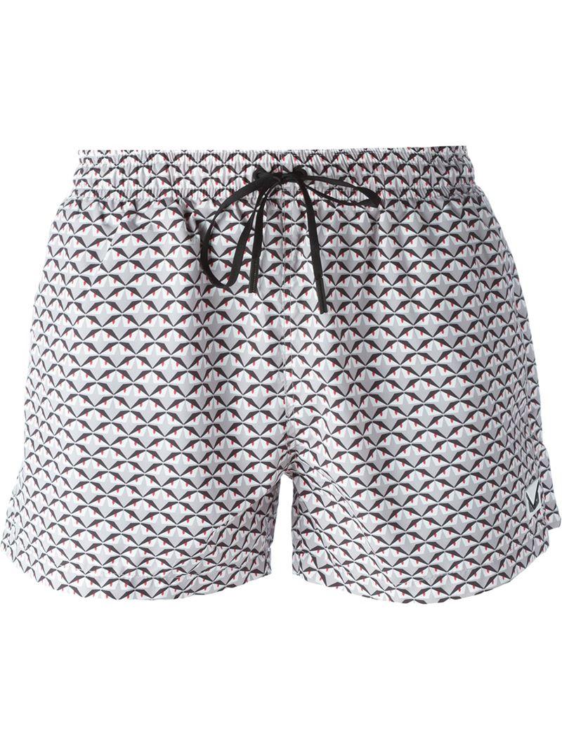 1f2620ed02 Fendi Bag Bugs Swim Shorts for Men - Lyst