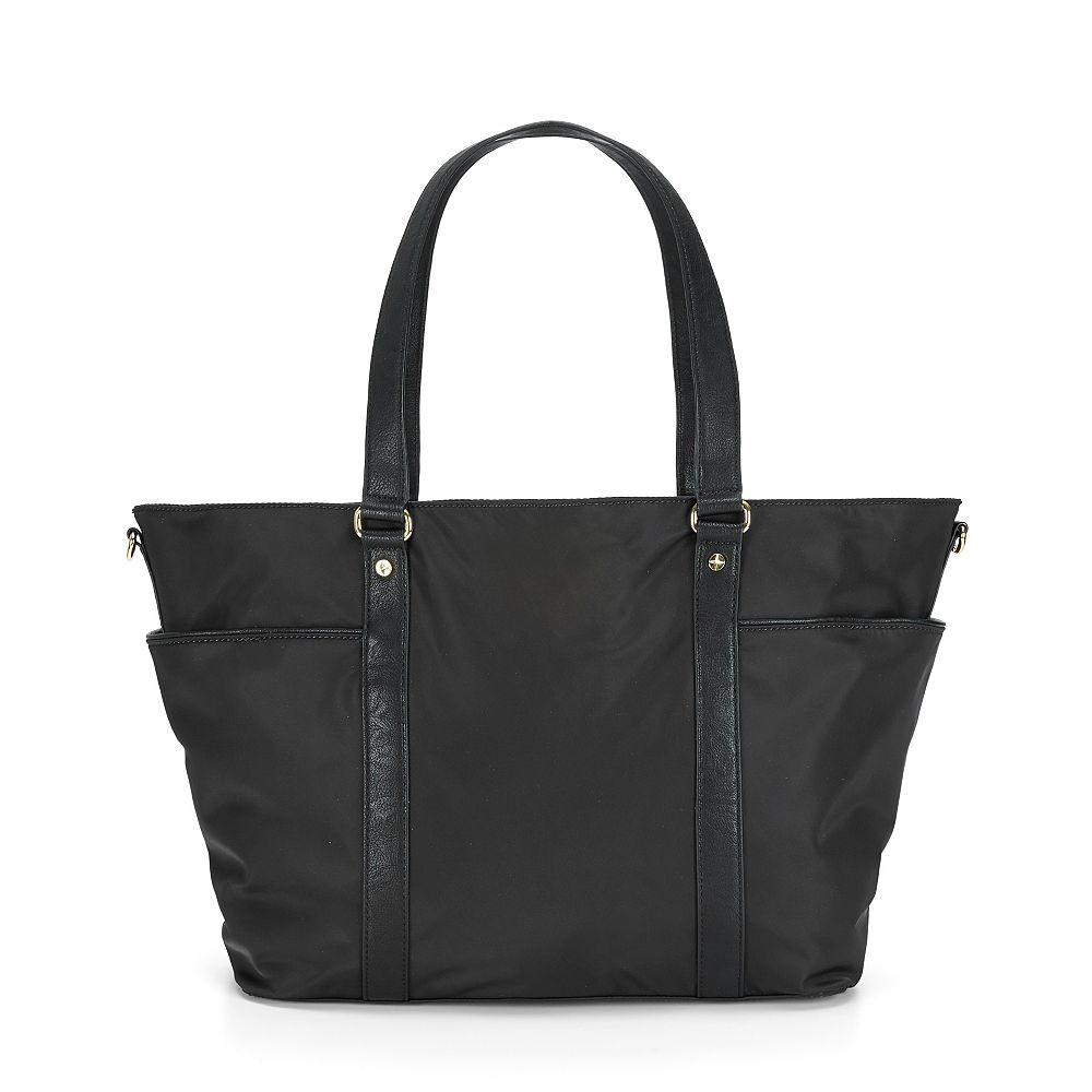 c wonder nylon diaper bag in black black black lyst. Black Bedroom Furniture Sets. Home Design Ideas