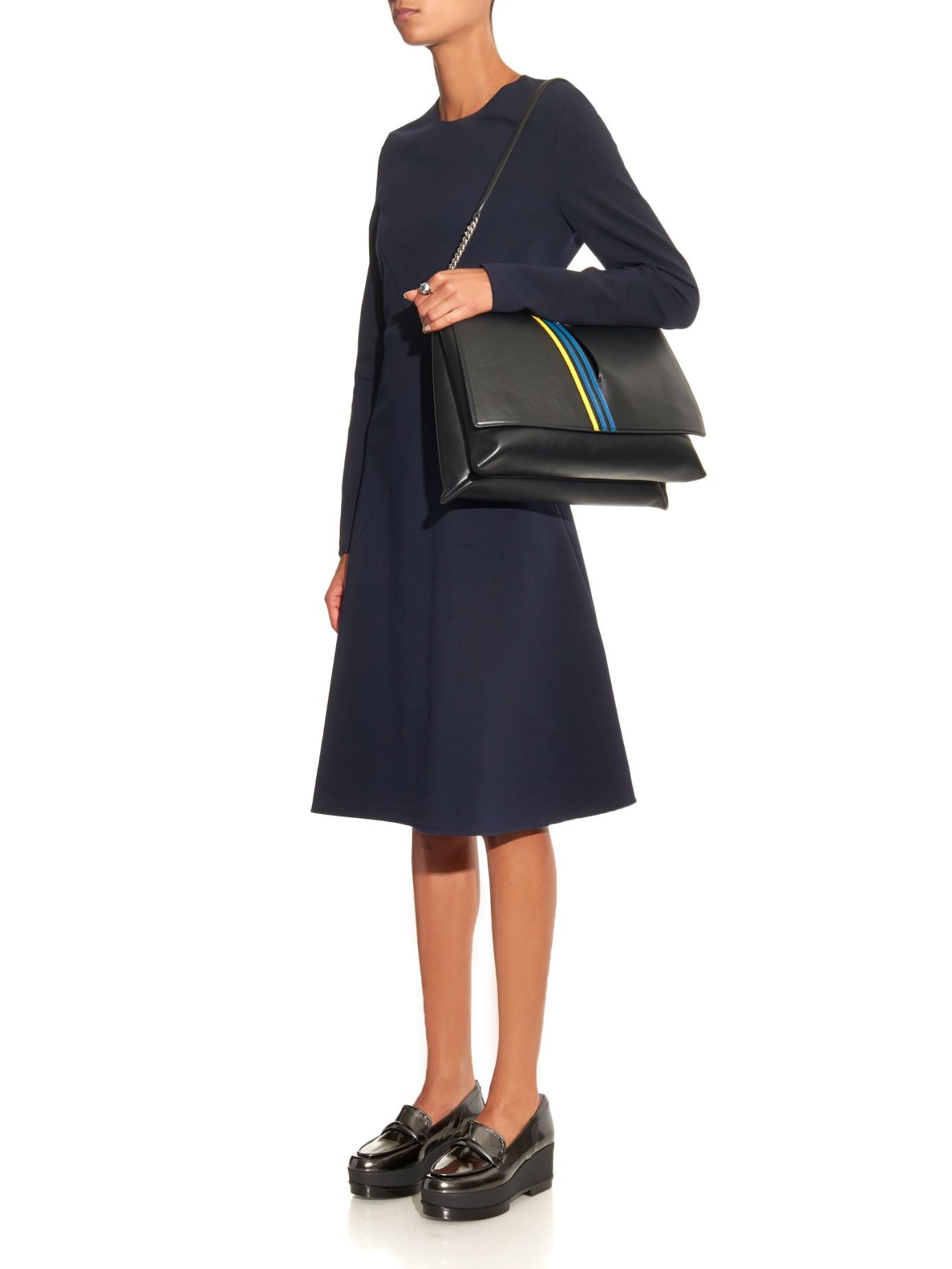 Jil Sander flap shoulder bag Sale Collections Best Store To Get Sale Authentic 4P4hs