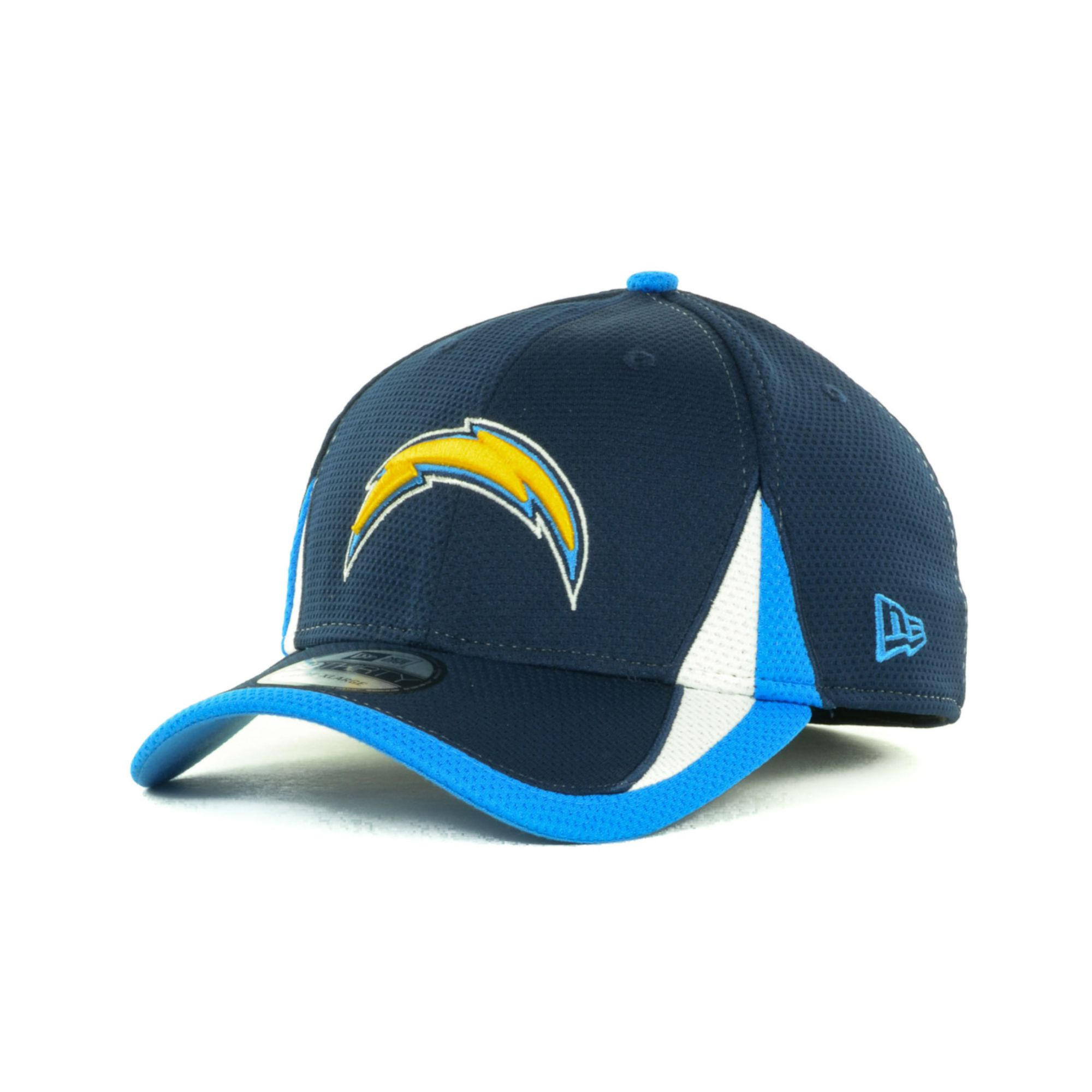 San Diego Chargers Cap: New Era San Diego Chargers Training Camp 39thirty Cap In