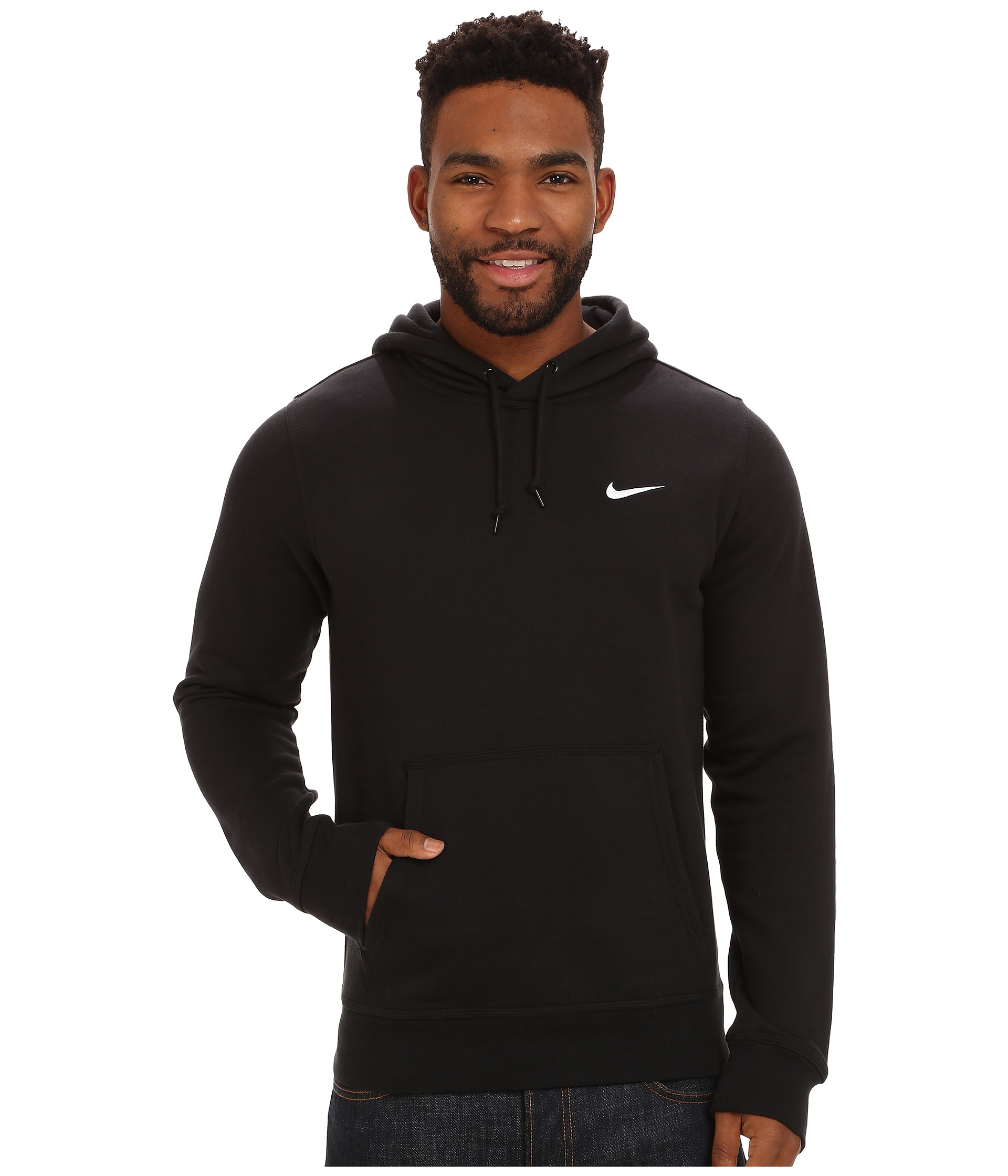 Nike In Swoosh 0zqevnyo Hoodie Black Lyst Men Club For xTwRCq0Yn