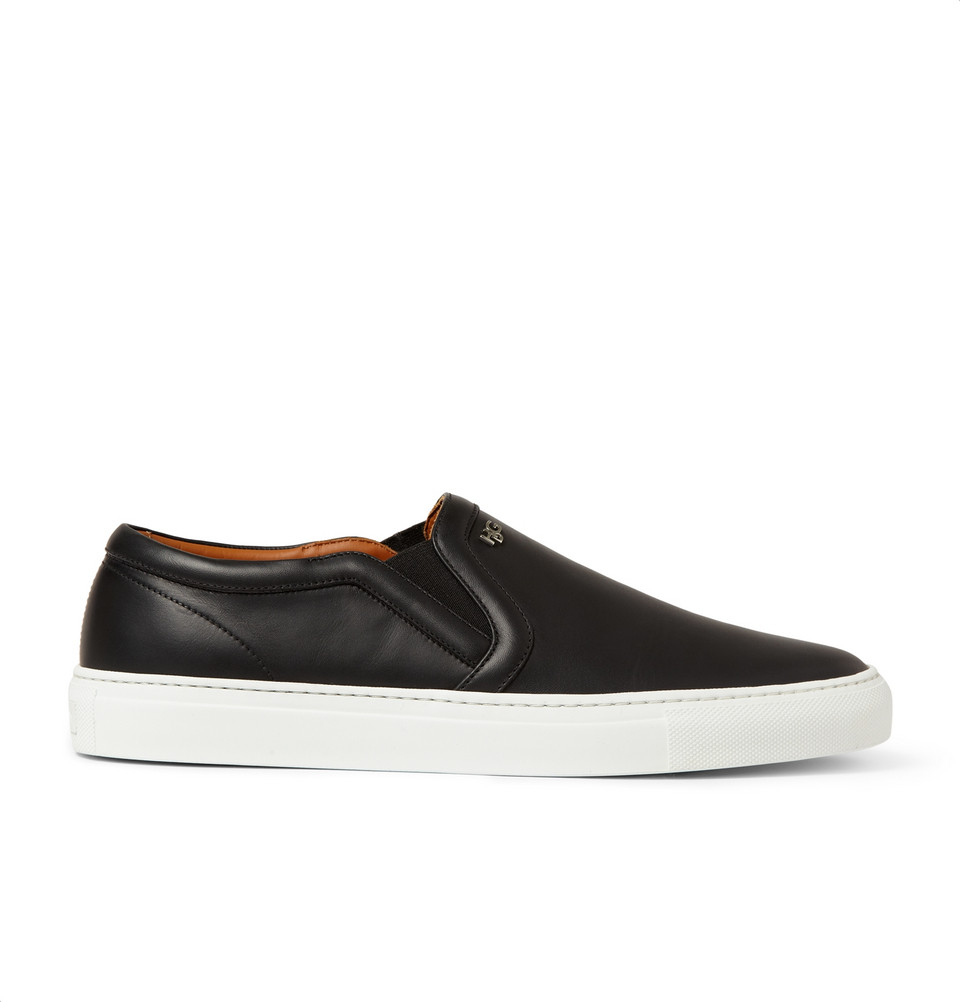 Lyst Givenchy Skate Shoes In Leather In Black For Men