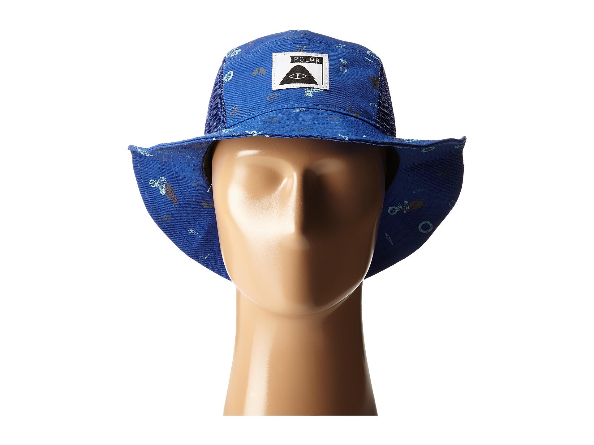 afb7315b226 Lyst - Poler Lunchpail Bucket Hat in Blue for Men