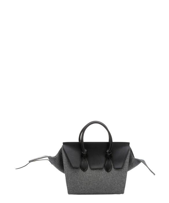 cheap celine bag replica - Celine Black Tie Knot Large Leather Shopper Tote Handbag Bag Purse