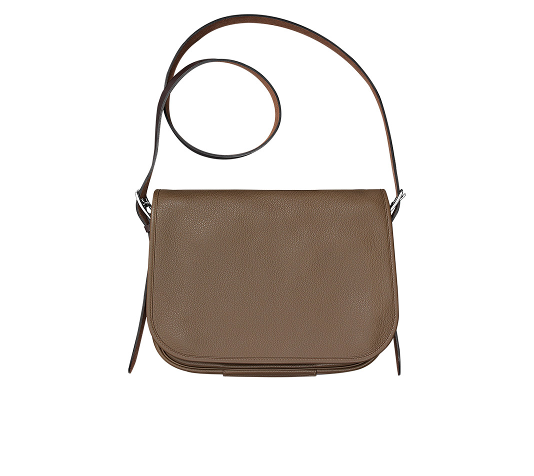 blue ostrich purse - Herm��s Barda 35 in Brown for Men (taupe/ebony) | Lyst