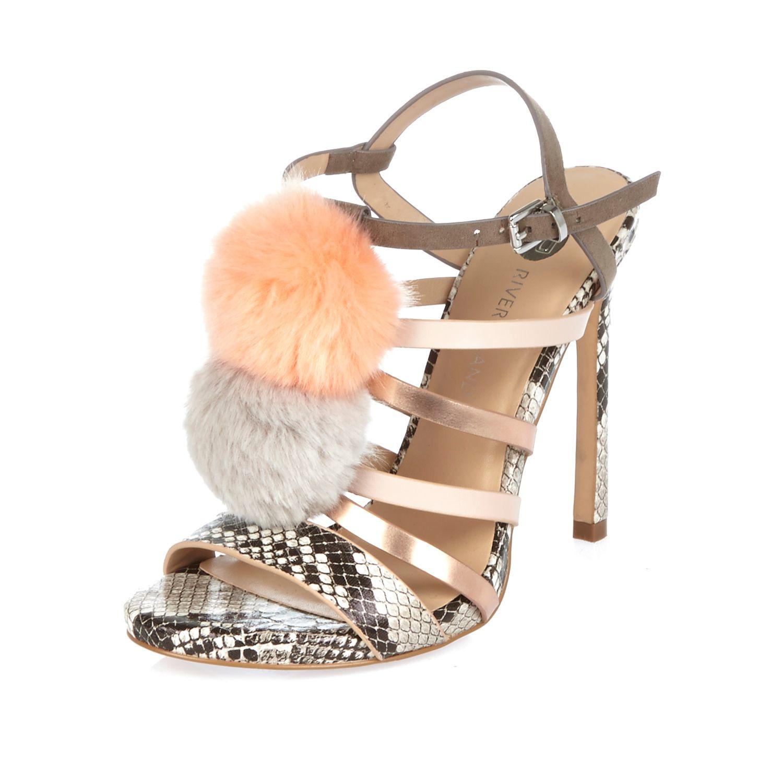 Pink Ruffle Heels