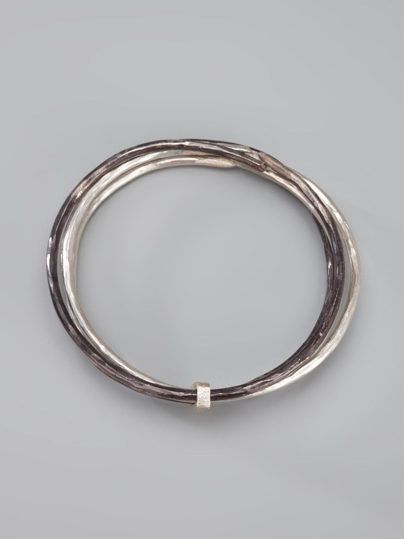 Alice Waese screw bracelet - Metallic