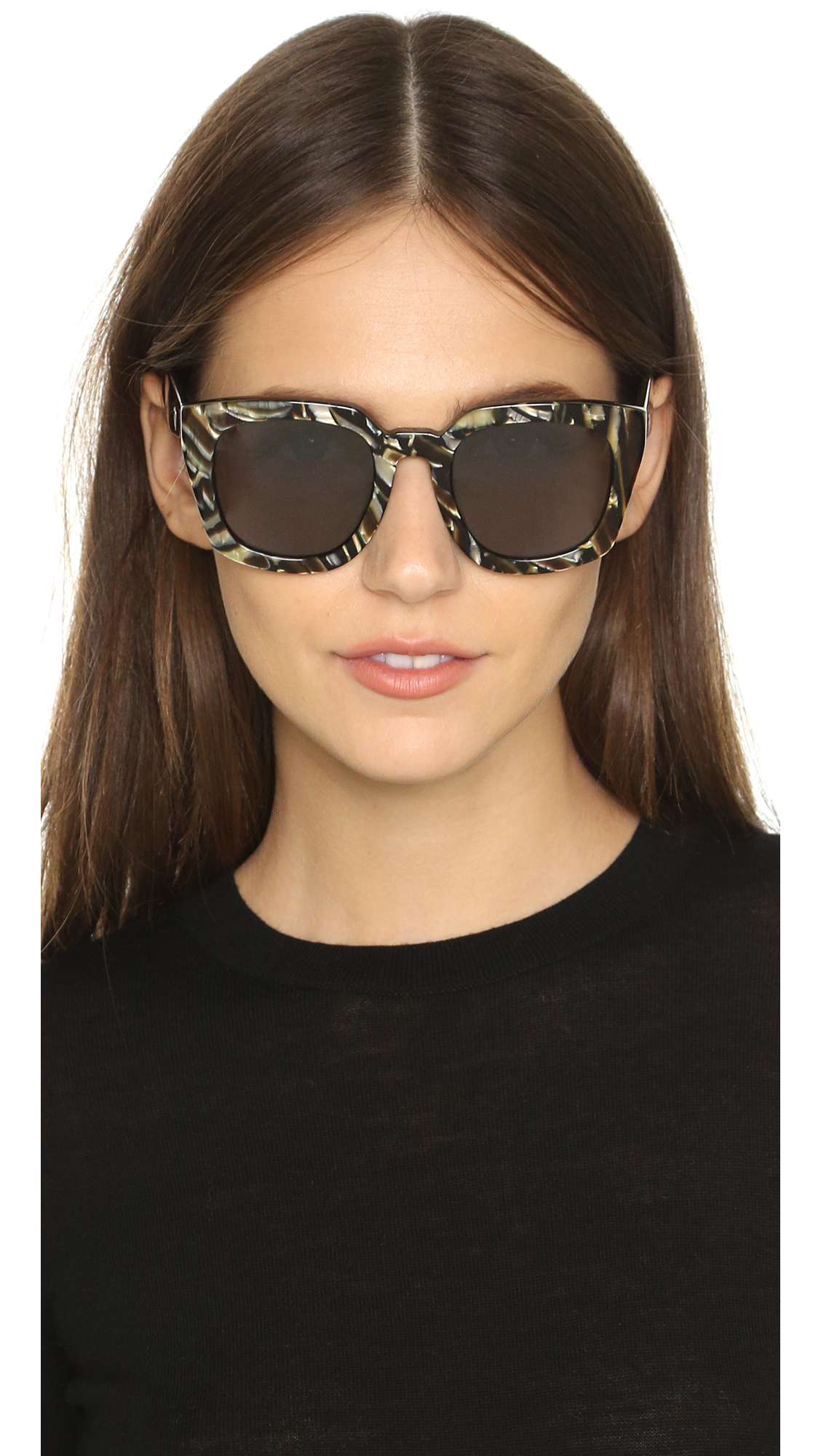 585c365912 Valley Eyewear Orbis Sunglasses in White - Lyst