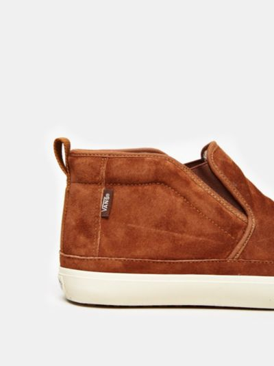 Vans Mid-Slip Men'S Chukka Boot in Brown for Men | Lyst