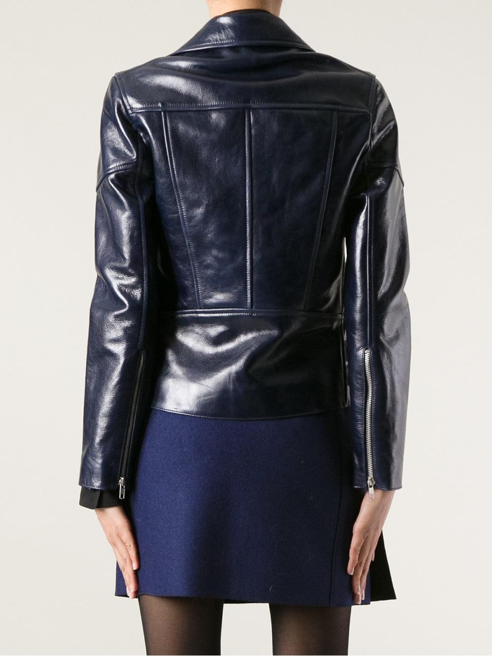 Victoria beckham leather jacket